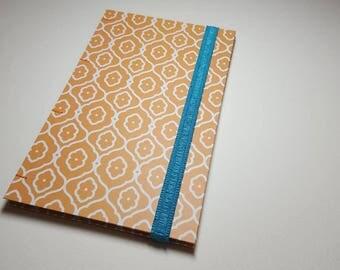 Handmade dot grid journal for bujo, diary, or writing, blue RESERVED FOR SEB