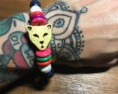 Summertime Fiesta Cat Rainbow Bracelet
