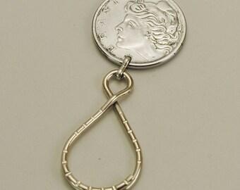 Brazil 1977 Coin Keyring