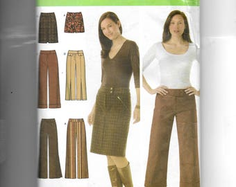 Simplicity Misses' Pants and Skirt, Each in Two Lengths Pattern 4965