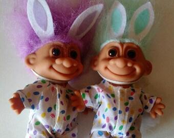 Easter troll doll