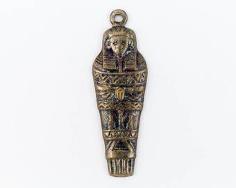 20mm Antique Silver Mummy Charm #CHA004