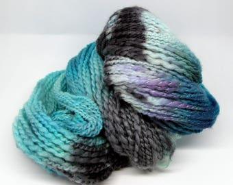 Handspun Yarn Luxury Merino & Cashmere Hand Dyed 104g 216 Yards HS43