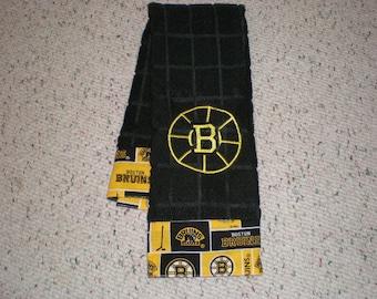 Boston Bruins Hockey Microfiber Kitchen Towel