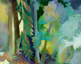 Forest Abstract - Cascadia State Park II - Fine Art Print by Jenlo