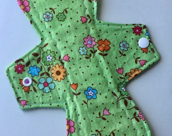 "10"" MODERATE Absorbency Reusable Cloth Menstrual Pad"
