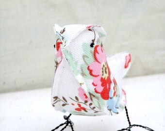 2yr Wedding Anniversary Gift Cotton Floral Bird Check processing and delivery times