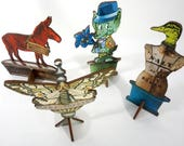4 Pop Up Art Sculptures - Special Sale on Handmade Art Gifts