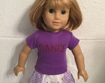Doll clothes that fit the American girl skirt set