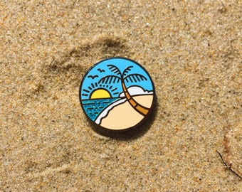 Vacation - hard enamel pin