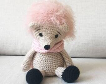 Poppy the Hedgehog - Amigurumi Crochet Doll - Softie - Plush