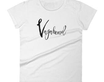 Vagabond~Women's short sleeve t-shirt by SEEDS Studio