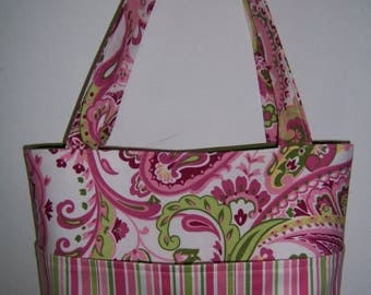 SALE Aivilo Tote Bag -  easy PDF Purse Sewing Pattern - 4 Sizes to Make - lots of pockets - instant download