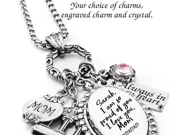 Signature Necklace, Handwriting Jewelry, Custom Signature Pendant, Keepsake Signature Jewelry, Memorial Handwriting Necklace