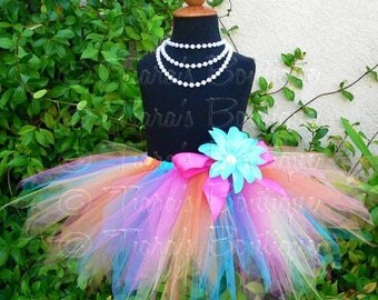 "SUMMER SALE 20% OFF Less Full Economy Tutu Skirt for Girls, Babies, Toddlers - Choose Your Colors - 11"" pixie tutu - Custom Sewn Tutu - size"