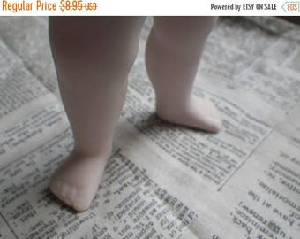 SALE 30% Off Vintage Bisque Plump Baby Doll Legs with Hip Joints 5 Inches One Pair