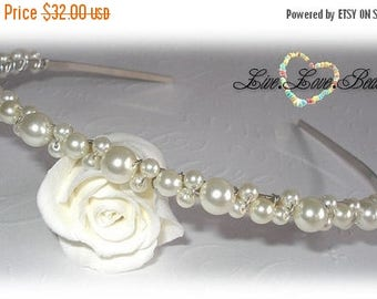 20% OFF Pearl Alice Band