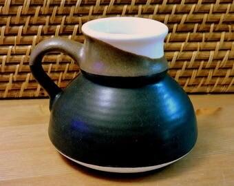 LARGE Slip-Proof Stoneware TRaVeL MuG ~ ViNTaGE SLOSH-PROOF ~ Slip-Proof Bottom