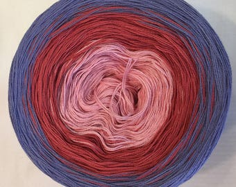 3-ply 100g gradient tied cotton light fingering weight Spring Tales v.1