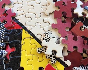 Vintage puzzle Roy Lichtenstein Modular Panels 1969 MOD POD