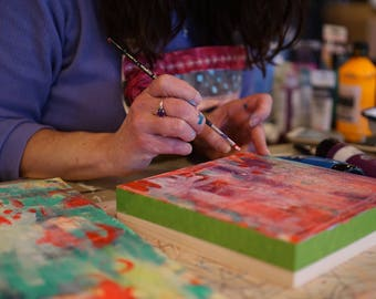 Private 1.5 Hour Art Lesson with Jennifer Mercede