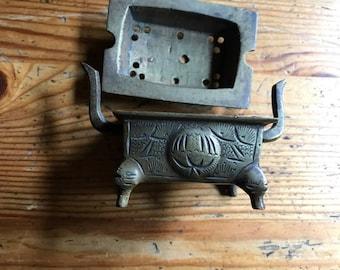 vintage  incense burner map vintage brass makes the whole house smell lovely