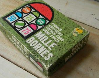 Mille Bornes classic card game