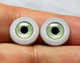 Doll eyes 12mm AD SM color Sage