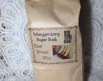 Beer Bread Mix, easy quick bread, quick bread, Beer Bread, Pizza Crust, herbed quick bread, Moeggenborg Sugar Bush