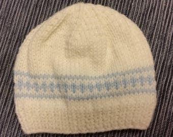 Baby Boy Hat Baby Boy Hospital Hat Boy Hat Beanie It's a Boy Hat Baby Boy Cap Blue Baby Boy Hat Newborn Boy Hat Beanie Knit Baby Hat