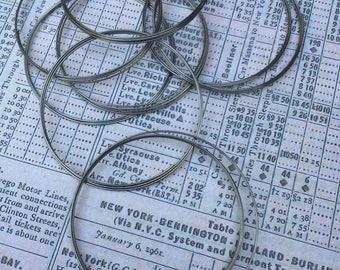 Silver Bracelet Memory Wire