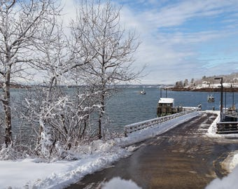 "Winter Prints by LT Photography ""Chandler's Wharf"""