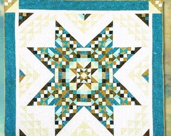 """LACE STAR Quilt Book - Quilt Finishes to 88""""x88"""""""