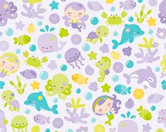 ON SALE Under The Sea By Doodlebug Design Purple Main