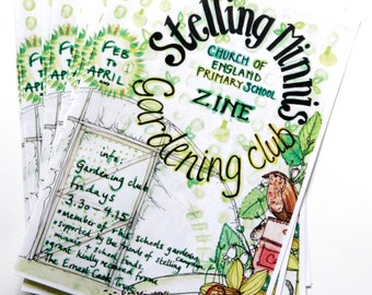 The Stelling minnis primary school gardening club zine issue 1