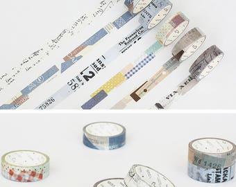 Japanese Washi Masking Tape (Collage)