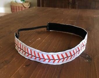 Non-slip headband baseball/softball