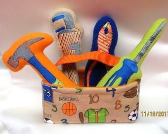 Little Boys Soft Tool Box Set