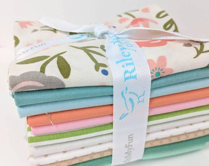 Featured listing image: Heart & Soul FQ Bundle - 11 Fat Quarters