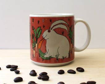 Rascal Rabbit.  Vintage Taylor and Ng mug, 1990s.