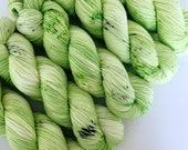 CLOVER - Hand Dyed Yarn - Signature Merino Nylon Sock Yarn Fingering - Ready to Ship - Vivid Yarn Studio