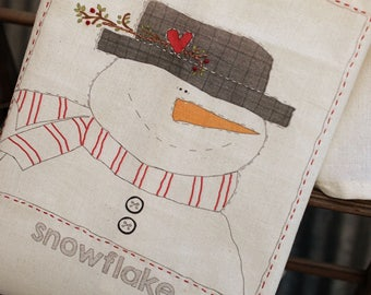 Sweetwater Ink- Snowflake Snowman