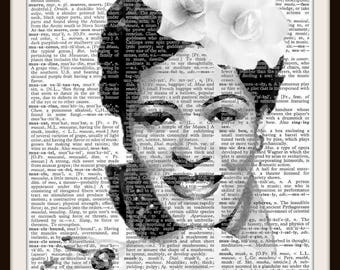 Billy Holiday Art print -- 8.5 x 11