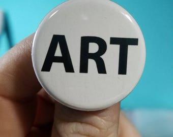 ART 1.25 inch Button