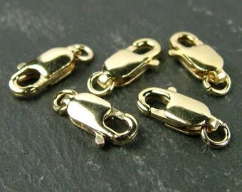 Gold Filled Lobster Claw Clasp 10mm (CG5321)
