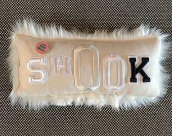 Shook pillow.