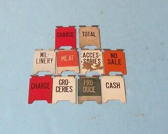 Vintage National Cash Register Flags Vintage Metal Sign Signs Vintage Industrial Sign