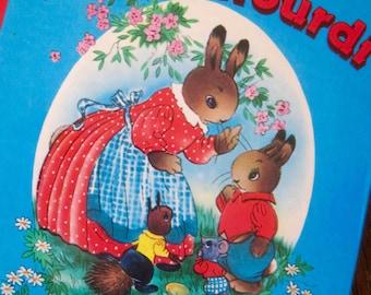 "1980s Book, French Book, Tom L'Etourdi"", Vintage Book, Children's Book, Cute Images, Vintage Children's Books, Anthropomorphic Illustrations"