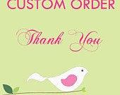 Custom Order for leagar
