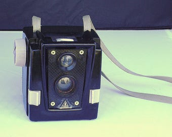 Vintage Tower Pseudo Twin Lens Reflex Camera